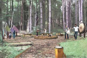 Photo: Trowbridge Wolf Michaels Landscape Architects